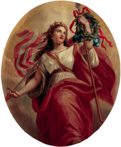 Liberty, by Constantino Brumidi, 1869