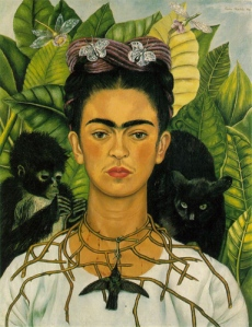 Frida Kahlo, self portrait