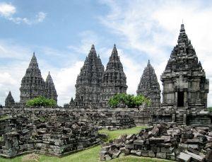 Prambanan complex, 9th century