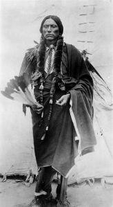 Cynthia Ann Parker's son, Comanche chief Quanah Parker