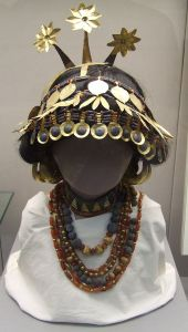 Reconstructed Sumerian finery