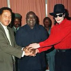 Private meeting between Kabila, Micheal Jackson, and the guy on the left.