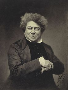 Alexandre Dumas, son of former slave Thomas-Alexandre Dumas, general in the French army