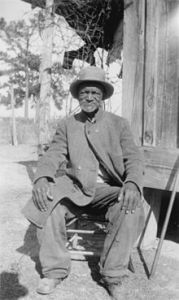 Wes Brady, interviewee from the Slave Narrative Collection, Marshall, Texas, 1937