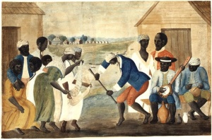 Slaves on a South Carolina plantation (The Old Plantation, c. 1790)