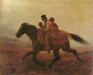 Eastman Johnson's A Ride for Liberty: the Fugitive Slaves