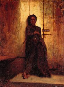 Eastman Johnson's painting, The Young Sweep